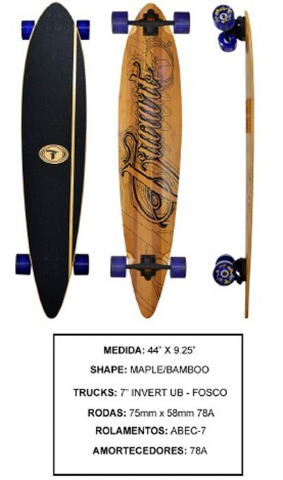 Longboard Traxart DP-005  - Rock Shop Skate Megastore