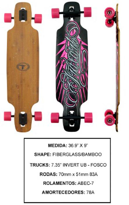 Longboard Traxart DP-011  - Rock Shop Skate Megastore