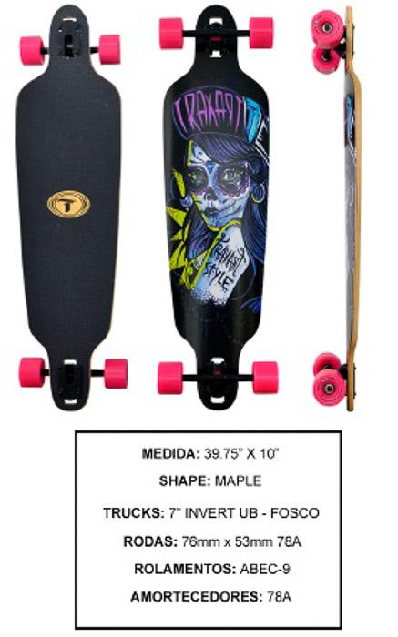 Longboard Traxart DP-013  - Rock Shop Skate Megastore