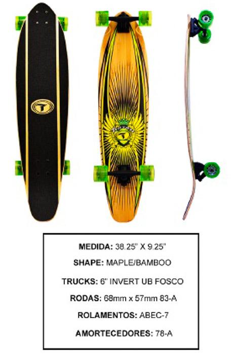 Longboard Traxart DM-407  - Rock Shop Skate Megastore