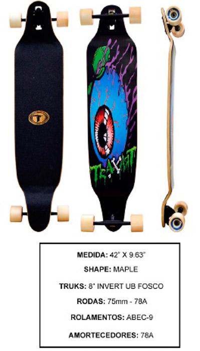 Longboard Traxart DM-462  - Rock Shop Skate Megastore