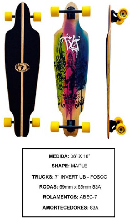 Longboard Traxart DM-465  - Rock Shop Skate Megastore