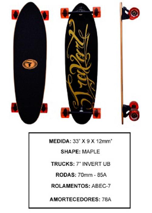Longboard Traxart DM-471  - Rock Shop Skate Megastore