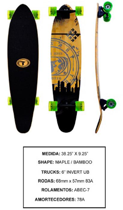 Longboard Traxart DM-472  - Rock Shop Skate Megastore