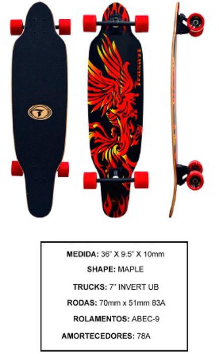 Longboard Traxart DM 473  - Rock Shop Skate Megastore