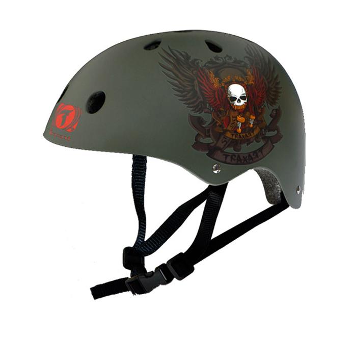 Capacete Traxart Wingskull  - Rock Shop Skate Megastore
