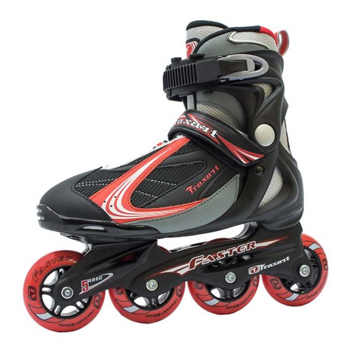 Patins Traxart Faster Red  - Rock Shop Skate Megastore
