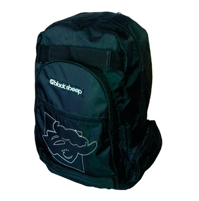 Mochila Black Sheep com Porta Skate  - Rock Shop Skate Megastore