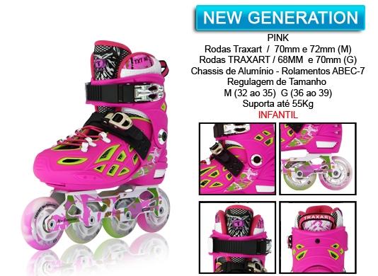 Patins Traxart New Generation   - Rock Shop Skate Megastore