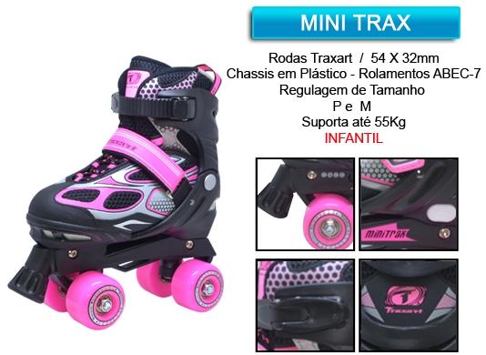 Patins Minitrax  - Rock Shop Skate Megastore