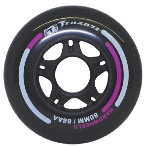 Rodas para patins 80 mm dureza 88A jg com 04 rodas  - Rock Shop Skate Megastore