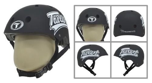 Capacete Traxart Black Whip  - Rock Shop Skate Megastore