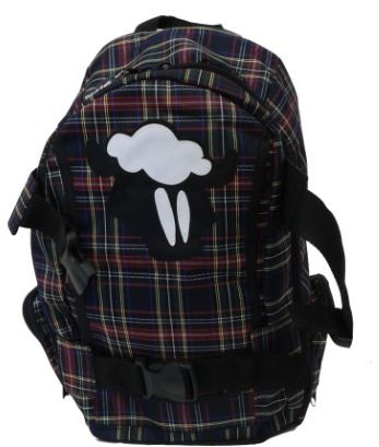 MOCHILA XADREZ BLACK SHEEP  - Rock Shop Skate Megastore