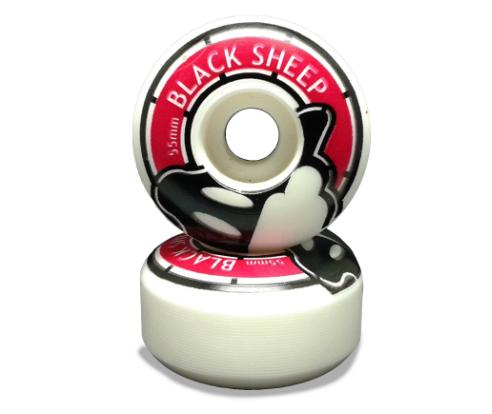 Roda Pró Black Sheep  55 mm  - Rock Shop Skate Megastore