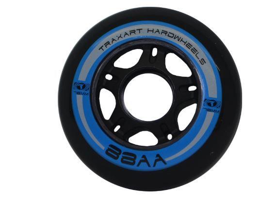 Rodas Traxart 76 mm 88 A - Jogo com 4 rodas  - Rock Shop Skate Megastore