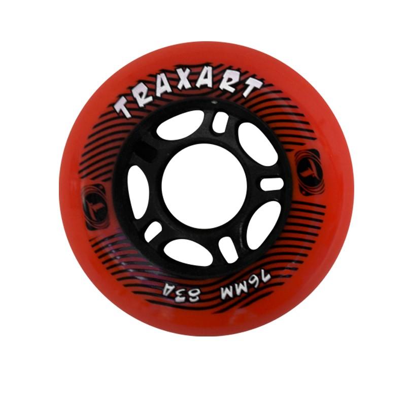 Rodas Traxart para Patins 76 mm jg com 04 rodas  - Rock Shop Skate Megastore