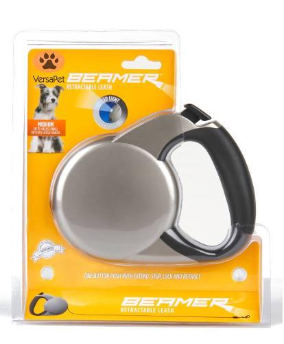 Guia Retrátil Lanterna Led Fita 5m P/ Cães Até 20 Kg
