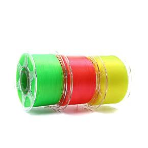 Filamento PLA Translúcido 1.75mm 1Kg Impressão 3D