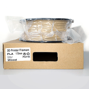 Filamento PLA Opaco Premium VersaMídia 3D  1.75mm 1Kg / Madeira  - Cód.11520