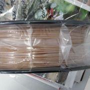 Filamento Wood Bamboo Madeira + PLA VersaMídia 3D Premium  1.75mm Black Spool 2ª Geração - 11518