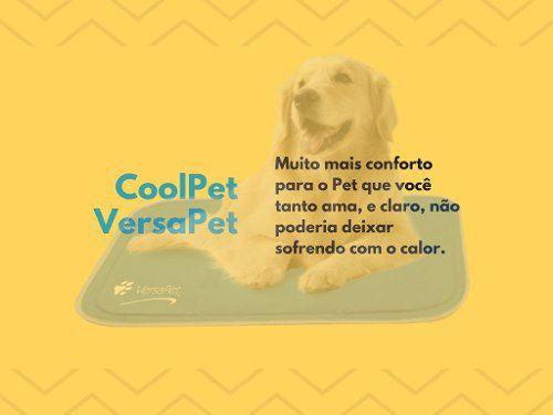 Tapete Gelado Coolpet M 40x50cm Colchonete Refrescante Cães