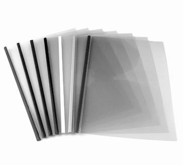Capas  Steel Crystal A4 - Encadernação Térmica 25un