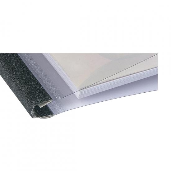 Capas Encadernação Térmica Steel Crystal Letter  25 un