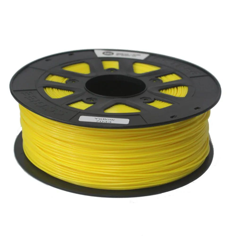 FILAMENTO ABS+  Amarelo 1,75mm 1KG CCTREE By VERSAMIDIA3D