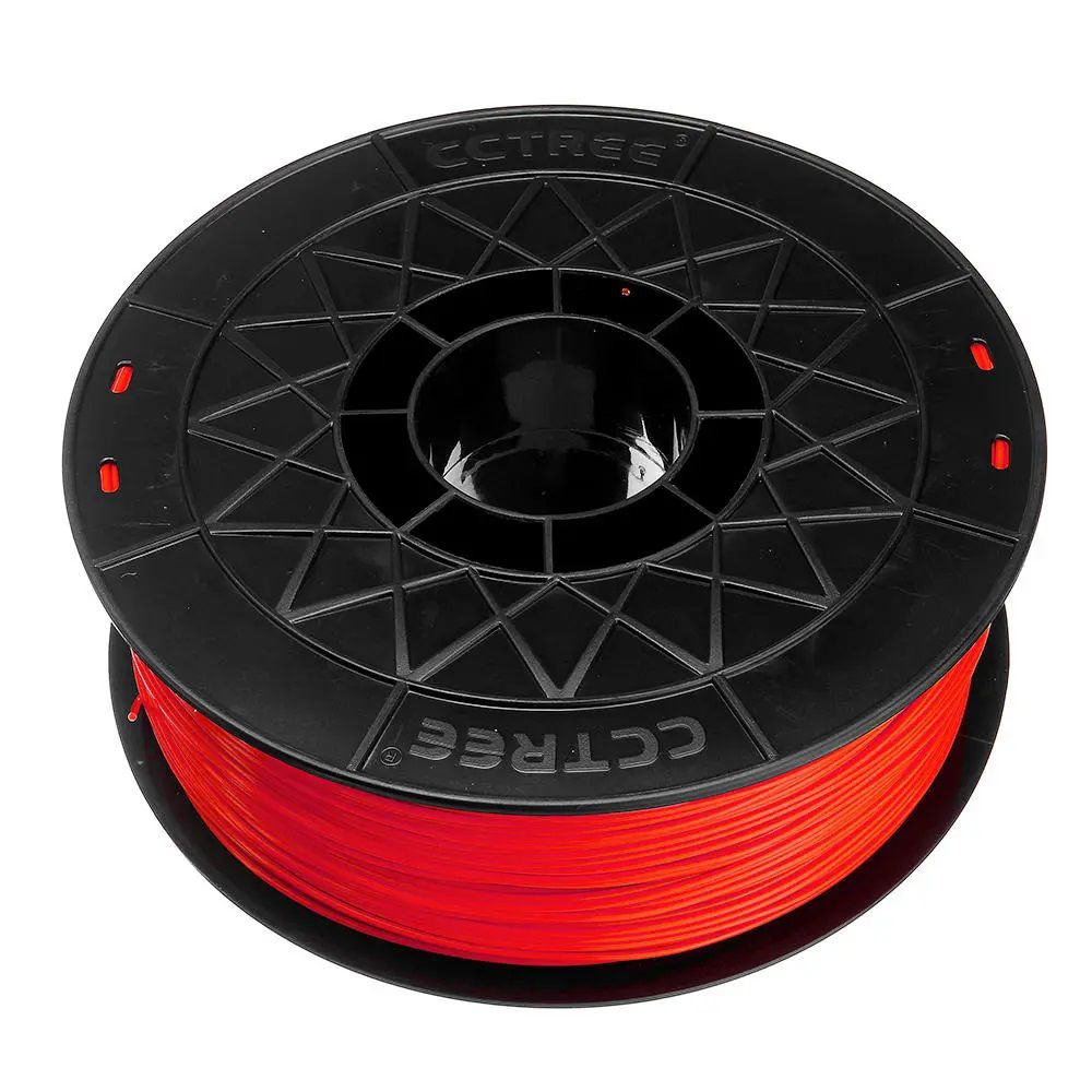 FILAMENTO ABS Vermelho 1,75mm 1KG CCTREE By VERSAMIDIA3D