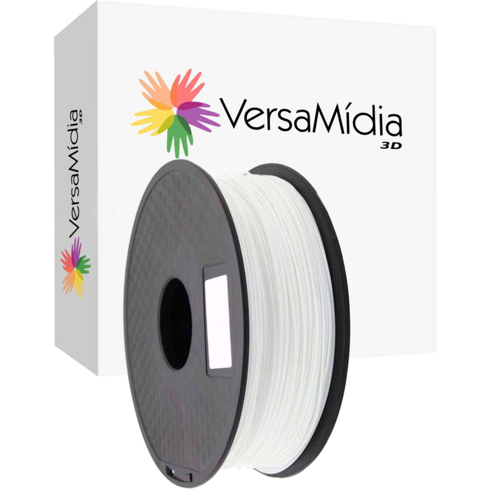 Filamento Flexível TPR  Premium 1.75mm 0.8Kg Bobina Black Spool Impressão 3D 2ª Geração - 11525