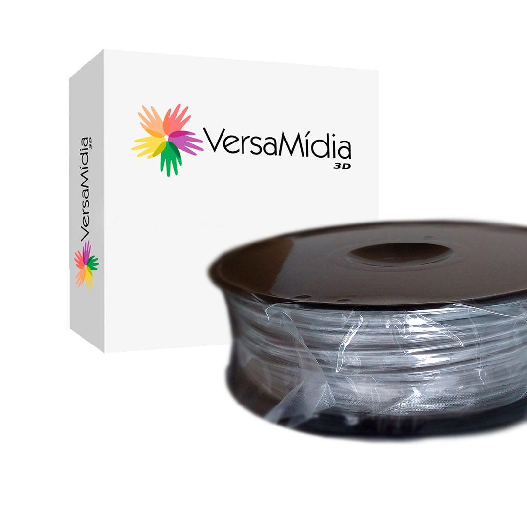 Filamento Mármore PLA  VersaMídia 3D Premium  1.75mm Black Spool - 11521