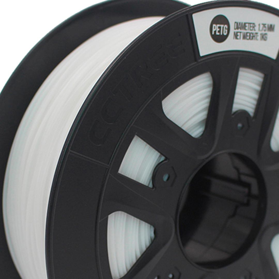 Filamento PETG Branco 1.75 1Kg CCTREE