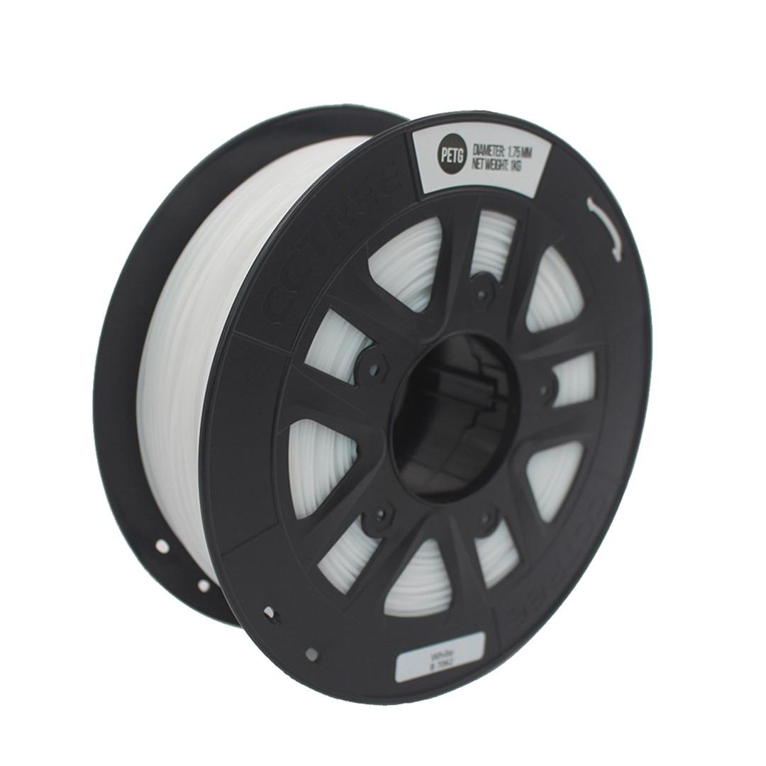 Filamento PETG Branco 1.75mm 1Kg CCTREE VersaMídia 3D