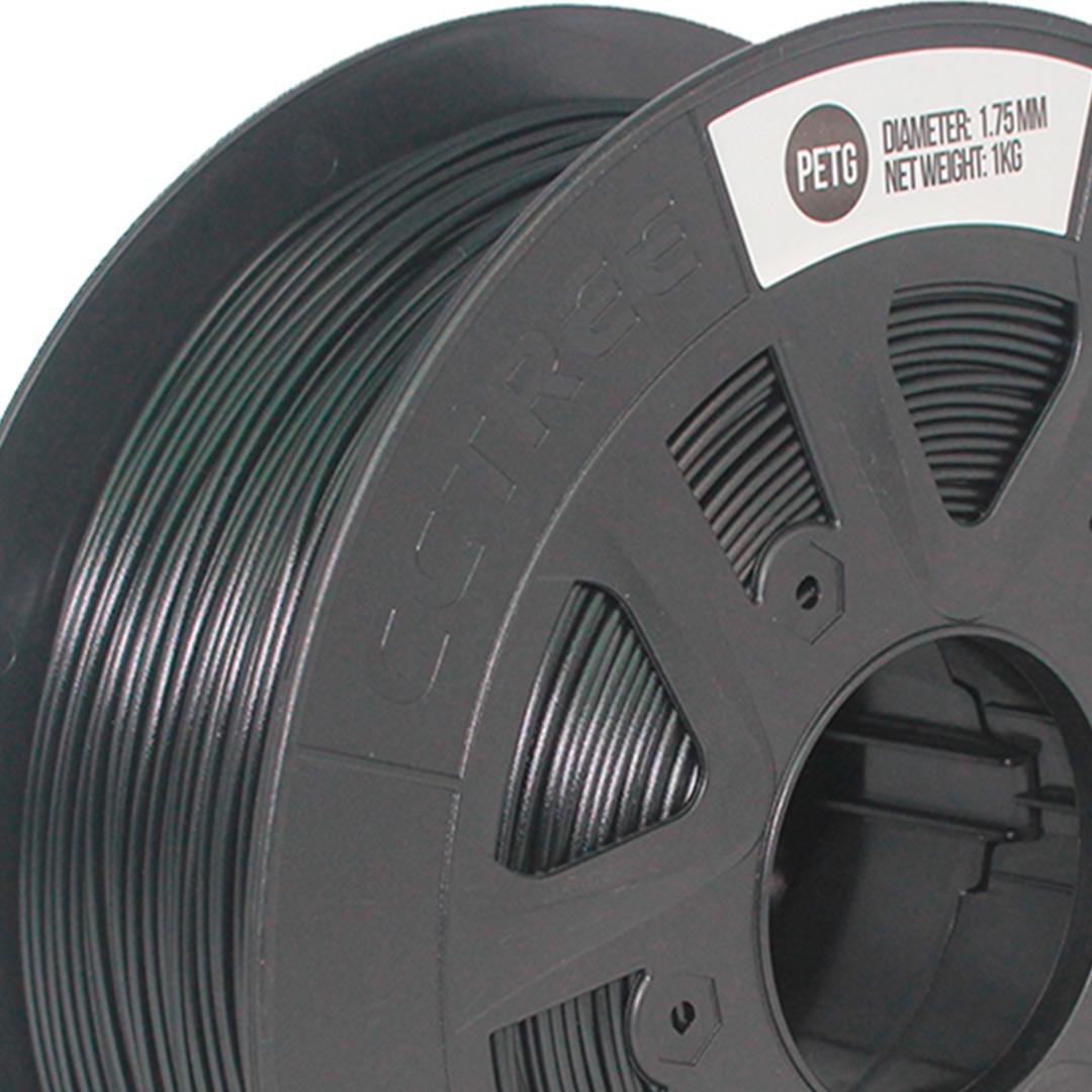 Filamento PETG Preto 1.75 1Kg CCTREE