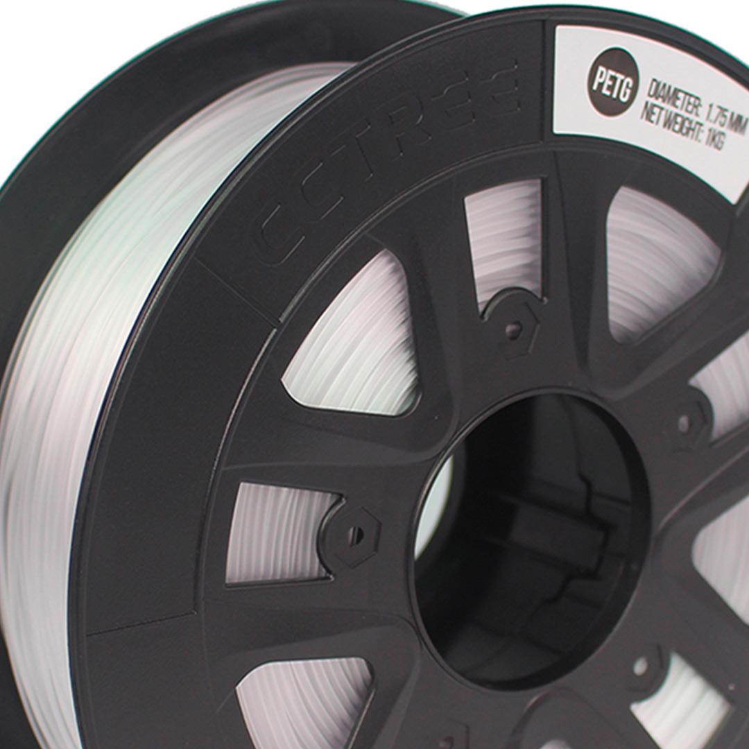 Filamento PETG Transparente 1.75 1Kg CCTREE