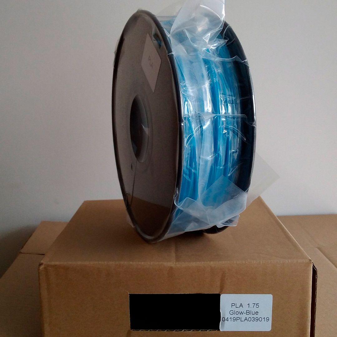 Filamento PLA Brilho no Escuro VersaMídia 3D Premium  1.75mm Black Spool