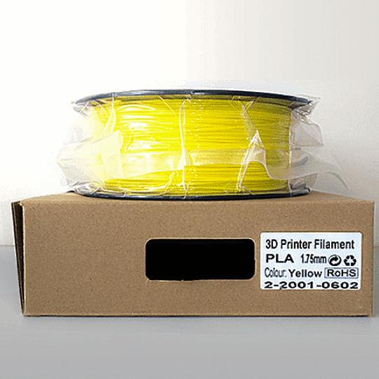 Filamento PLA  Opaco Premium VersaMídia 3D  1.75mm 1Kg / Amarelo - Cód.11502