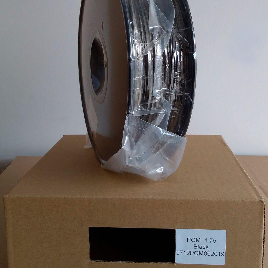 Filamento POM Poliacetal - Polyoxymethylene (Polyformaldehyde) - Impressão 3D