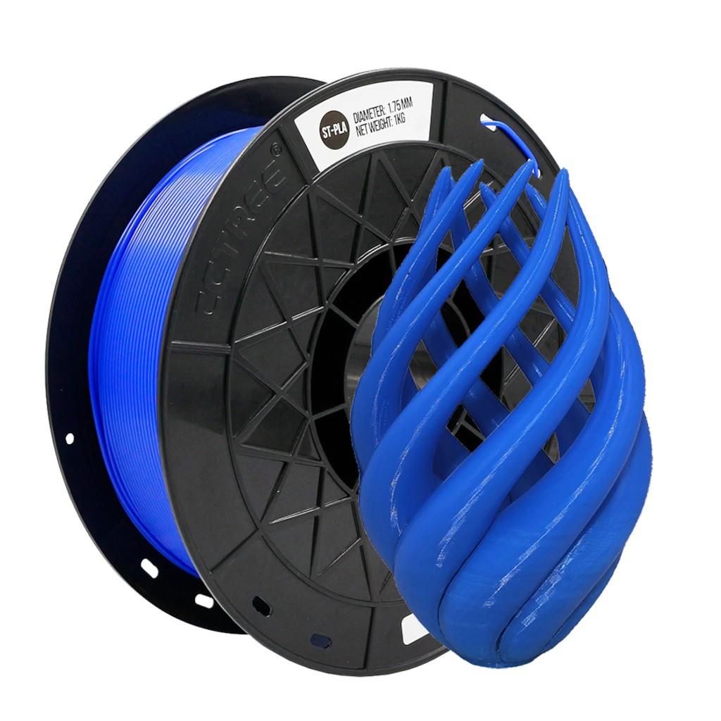 FILAMENTO ST-PLA CCTREE   ( PLA+) / PLA Modificado de Alta Resistência Azul Escuro 1,75mm 1KG  By VERSAMIDIA3D