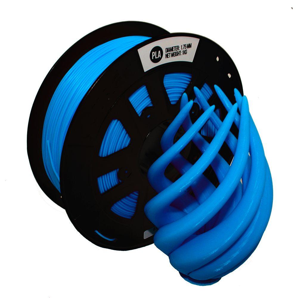 FILAMENTO ST-PLA Modificado de Alta Resistência Azul 1,75mm 1KG CCTREE By VERSAMIDIA3D