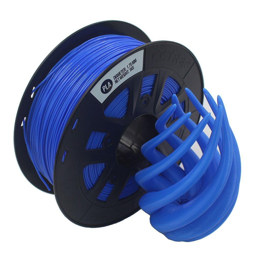 FILAMENTO ST-PLA Modificado de Alta Resistência Azul Escuro 1,75mm 1KG CCTREE By VERSAMIDIA3D