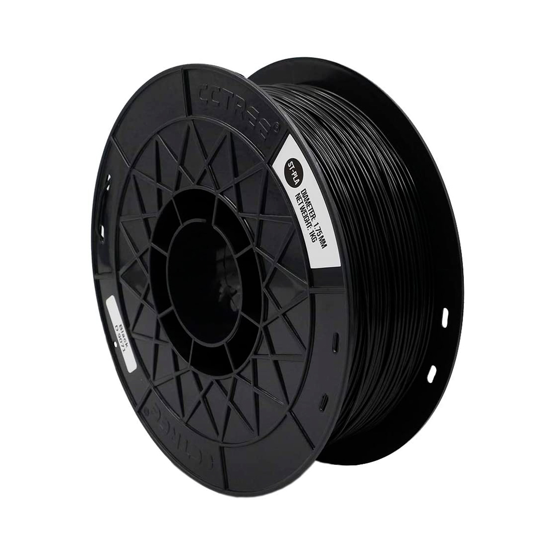 Filamento ST-PLA Preto 1.75 1Kg