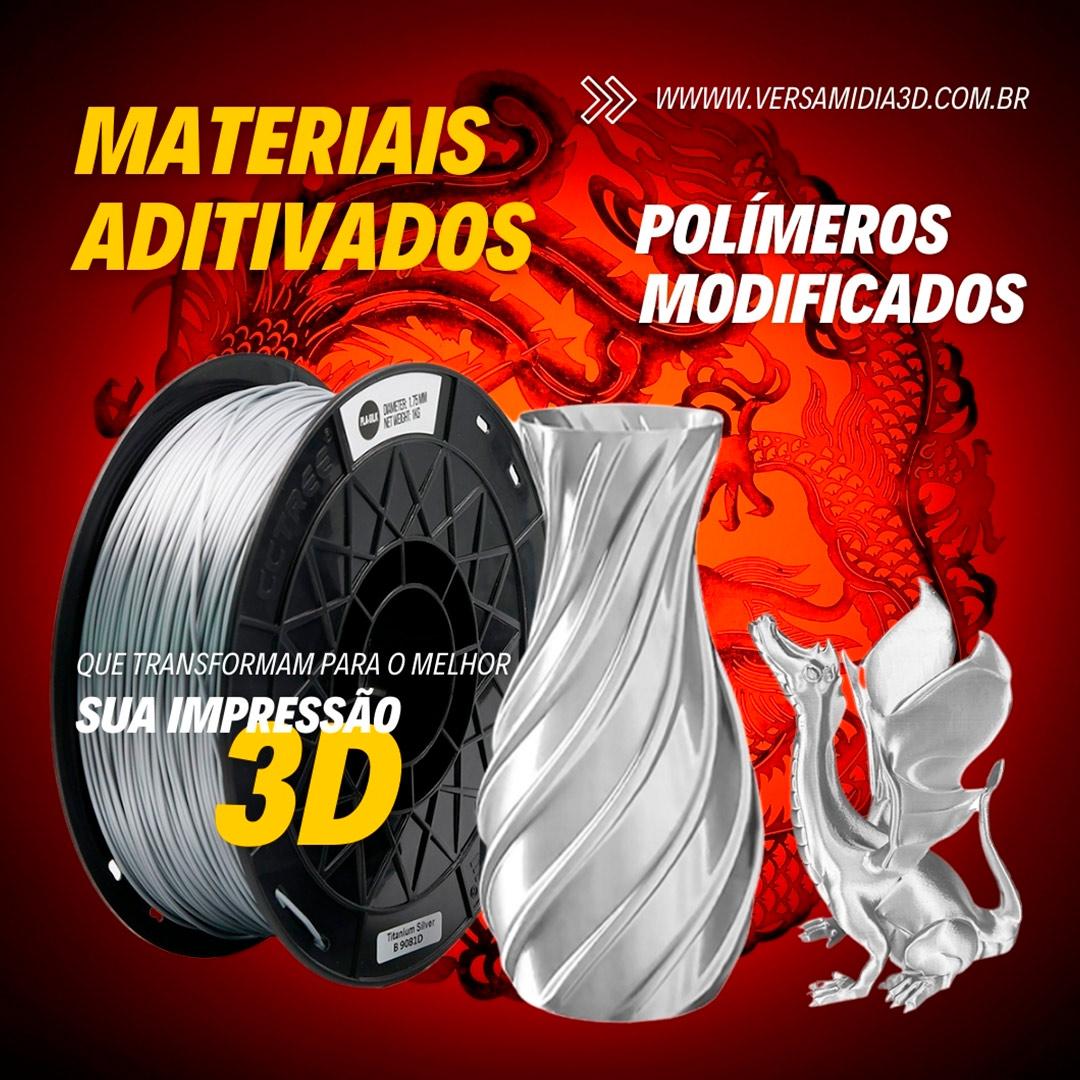 Filamento ST-PLA Silk Series Silver 1.75 1Kg CCTREE