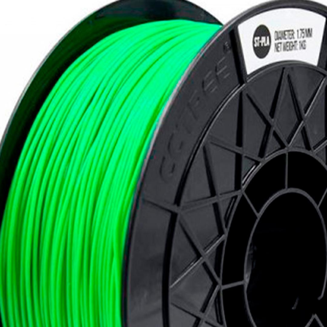 Filamento ST-PLA Verde 1.75 1Kg