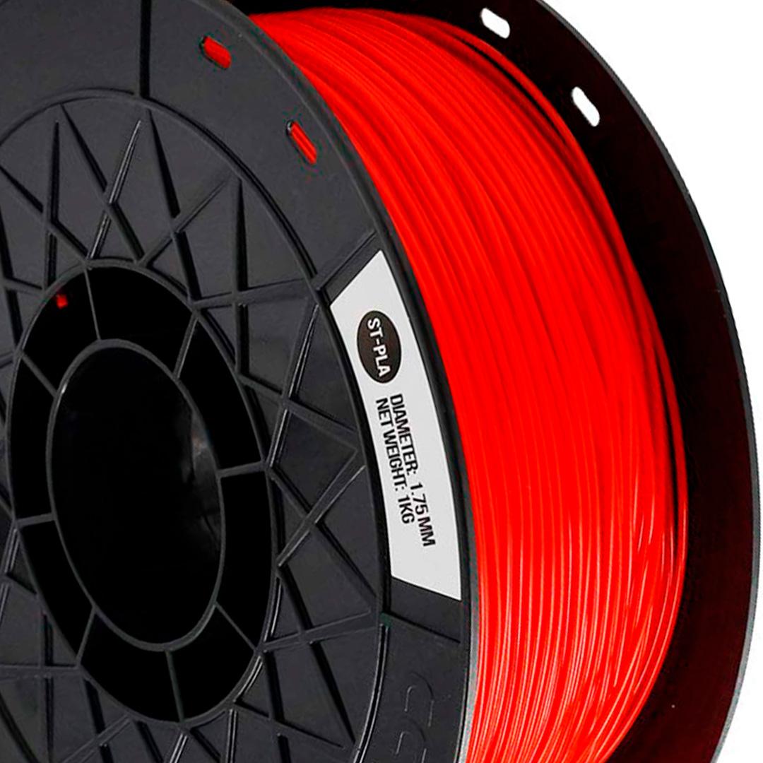 Filamento ST-PLA Vermelho 1.75 1Kg