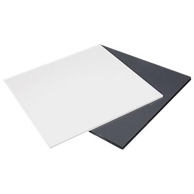 Cartão de PVC Branco 0,3mm Autoadesivo PSA Dupla Face 100un. cód. 130003 - 130012