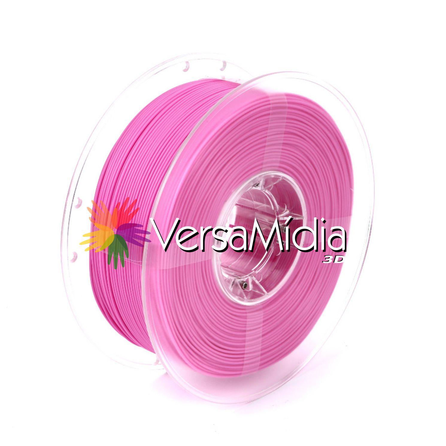REFIL Filamento Pla Versamídia 3d Rosa Pink