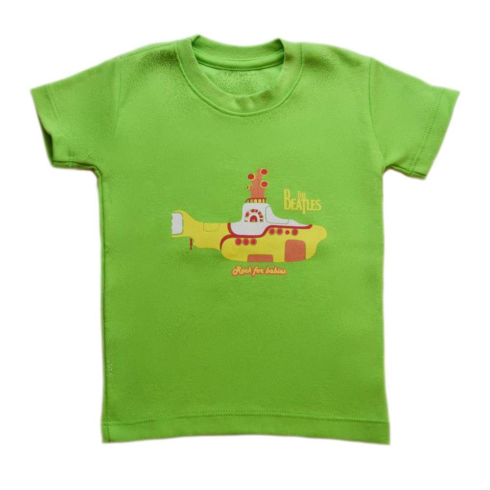 Camiseta Beatles - Verde