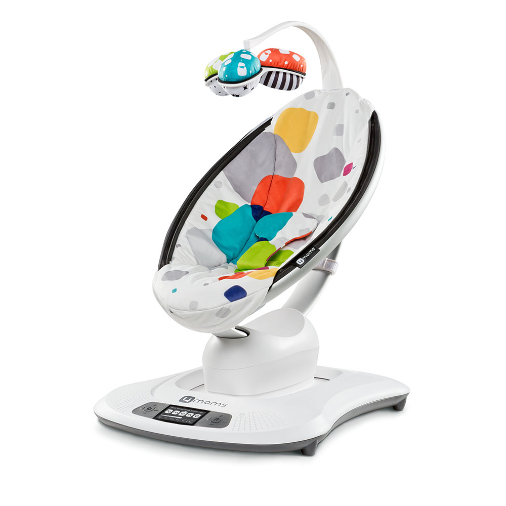 Cadeira Mamaroo 3.0 - Multi Color 2nd Geracao -  Plush Colorido - 4 Moms