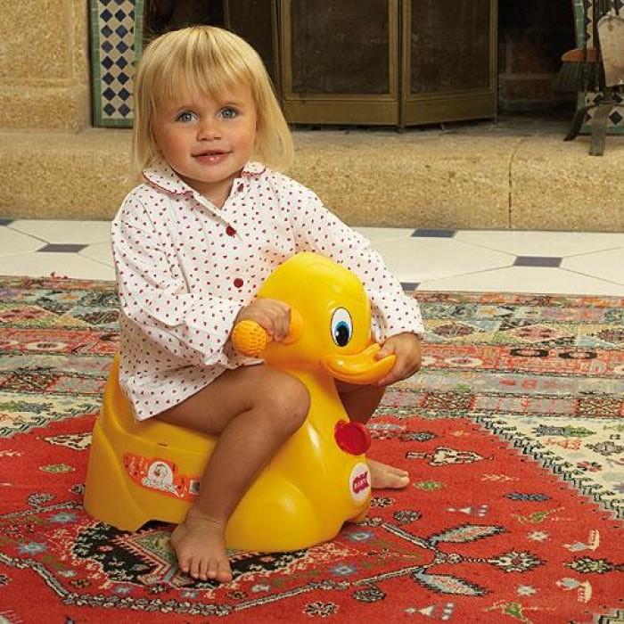 Penico para Bebês Quack - Rosa